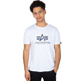 Alpha Industries Ανδρική κοντομάνικη μπλούζα Basic T Rainbow Ref.